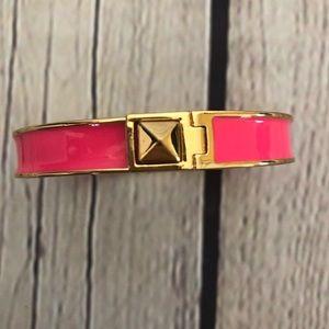 KATE SPADE Bangle Pink/Gold Bracelet
